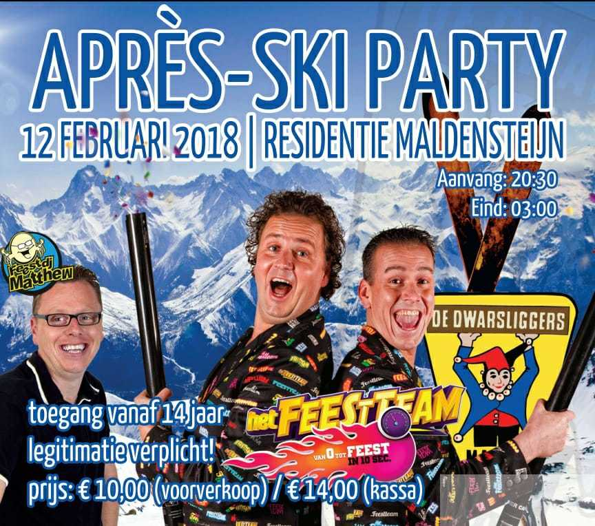 Voorverkoop Après Ski party van start!